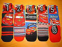 """Шкарпетки на хлопчика """"Тачки"""", розмір 9-12 років"""