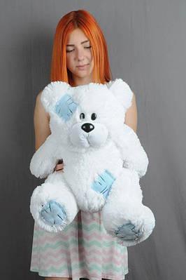 """Плюшевый мишка """"Тедди"""", белый, 50 см."""