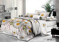 Комплект постельного белья Семейный размер Микросатин