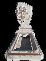 Памятник бетонный, комплект Флаг, Хмельницкая обл