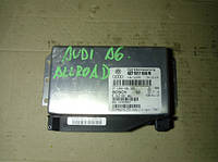 Блок управления АКПП AudiA6 C5 Allroad 2.5tdi1997-2004Bosch 0260002881, 4Z7927156N