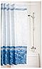 """Штора в ванную текстиль 180 x 200 см """"Гранит"""""""