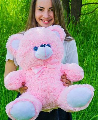 """Плюшевый мишка """"Томи"""", розовый, 65 см."""