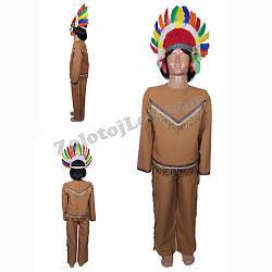 Индейский костюм для мальчика рост 152