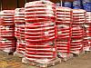 Двустенная гибкая гофрированная труба из полиэтилена, цвет красный, d75, с протяжкой DKC бухта 50м, фото 5