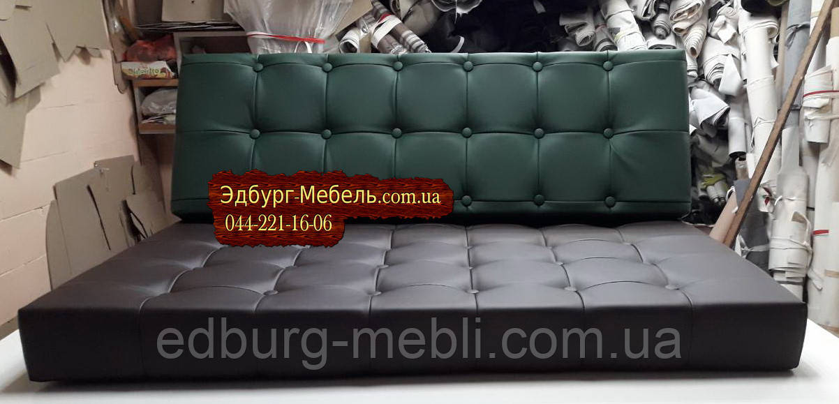 Подушки для поддонов с прошивкой и пуговицами