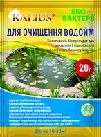Биопрепарат Kalius (Калиус) для чистки водоема, 20г