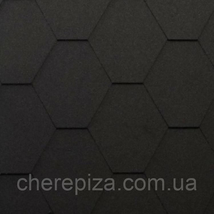 Бітумна черепиця Shinglas Classic KL чорний