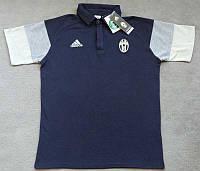 Мужские поло с пуговицами Adidas FC Juventus 2016-17