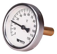 Термометр биметаллический осевой WATTS 120°С