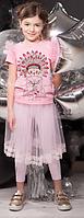 Комплект «ПИНКИ» юбка, леггинсы арт: 18ШС1-381/291-1