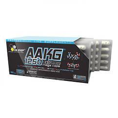 L-аргинин альфа-кетоглютарат Olimp AAKG 1250 Extreme Mega Caps (300 капс) аакг олимп