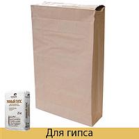 Бумажные мешки для гипса