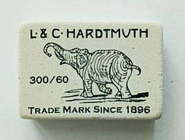 Ластик (резинка стирательная) мягкая Слон 300/60