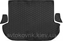 Пластиковый коврик в багажник Subaru Outback IV (BM) 2010-2014 (AVTO-GUMM)