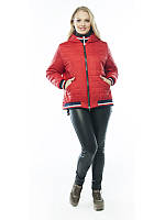 Весенняя женская куртка большой размер, фото 1