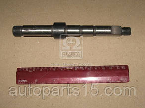 Вал насоса водяного МАЗ (нового  образца  )) каленый L=170 (пр-во Украина). 236-1307023. Ціна з ПДВ.
