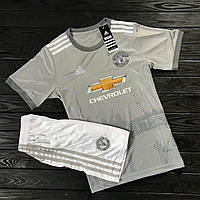 Футбольная форма Manchester United Away/ Манчестер Юнайтед гостевая 2017-2018