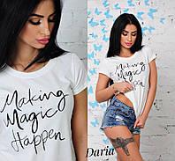 "Женская футболка ""Magic"" ДЧ-155"