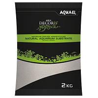 Кварцевый песок Aquael  для аквариума 0,4-1,2мм, 2 кг