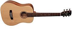 Акустическая гитара CORT AD MINI (OP) w/bag Мини гитары Длина мензуры 3/4