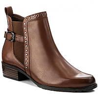 Ботинки демисезонные кожа Caprice
