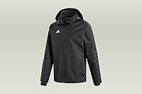 Оригинальная куртка adidas Condivo 18 Storm Jacket Black 5c54b21afc18c
