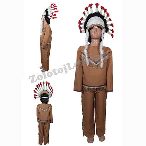 Индейский костюм для мальчика рост 110