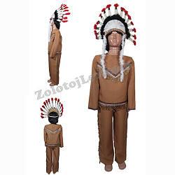 Костюм Вождь индейцев рост 104