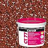 Штукатурка декоративно-мозаїчна полімерна Ceresit CT 77 (колір 1D, зерно 0.8-1.2 мм), 14 кг