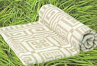 """Мягкое Льняное полотенце """"Греческое"""" (50 на 90 см)"""