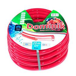 Шланг для полива Evci Plastik Dominik садовый диаметр 3/4 дюйма, длина 20 м (3/4 GHR 20)