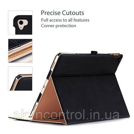 Защитный чехол Apple iPad Pro 12.9 Inch Case ProCase Leather Stand Folio Case Cover 2017 2015, фото 2