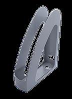 Лоток вертикальный Радуга с передней стенкой серый