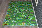 Детский игровой коврик Городок 200х110см, толщина 8мм, фото 3