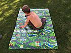 Детский развивающий игровой коврик Автодорога Приключений 200х110, толщина 8мм, фото 2