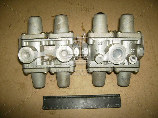 Клапан защитный  4-х контурный МАЗ (пр-во БелОМО). 64221-3515310-10. Ціна з ПДВ.