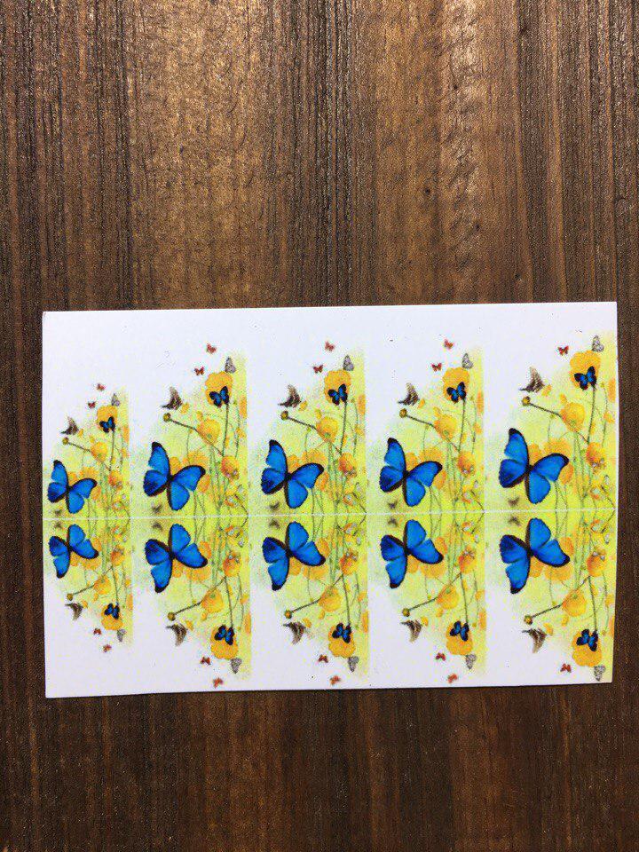 Слайдер дизайн для ногтей ( водные наклейки на ногти)