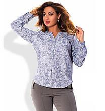 Сорочка в стилі поло розміри від XL 3098
