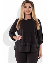 Блуза з ангори розміри від XL 3095