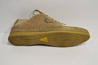 Повседневные мужские бежевые туфли Nik 0405, фото 3