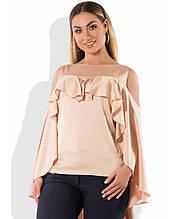 Блуза з шовку розміри від XL 3085