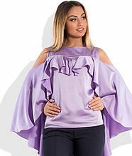 Блуза з шовку розміри від XL 3080