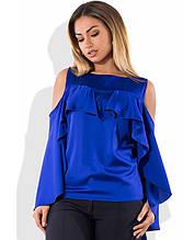 Блуза з шовку розміри від XL 3079