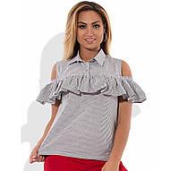 Рубашка с открытыми плечами размеры от XL 3056