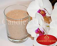 Насыпная свеча цвет: бежевый 500 г + фитиль, фото 1
