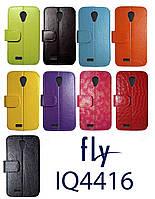 Чехол книжка-трансформер Fly IQ4416 ERA Life 5