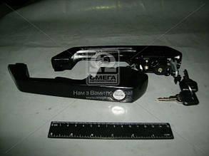 Ручка наружная комплект  (с двумя ключами) (пр-во Радиоволна). ИЖКС 454823.009. Ціна з ПДВ.