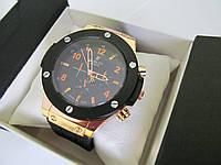 Часы трендовые с черным циферблатом