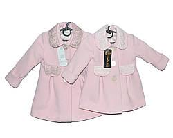 Пальто дитячі на весну для дівчинки Божена